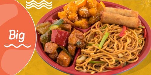 Noodles Cao Mien, Byrek kinez, Pulë kung pao, Pulë me portokall