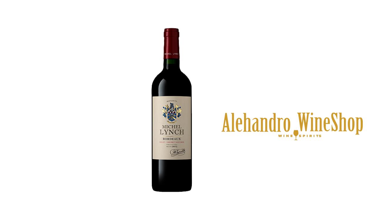 Verë e kuqe, Lynch, zona e prodhimit, Francë Bordeaux, varieteti Cabernet Sauvignon, Merlot, alkool 14, volumi 0.335 l