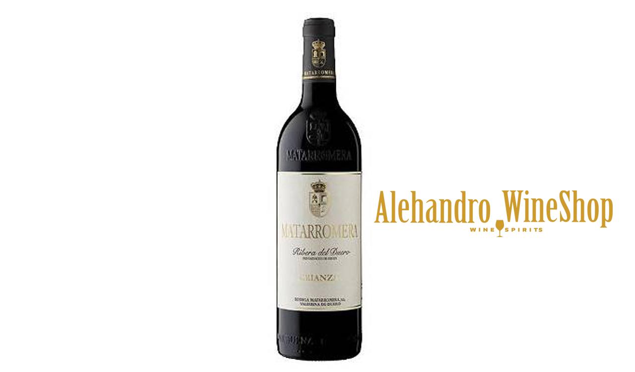 Verë e kuqe, Matarromera, zona e prodhimit Spanjë, varieteti 100 përqind Tempranillo, alkool 14.5, volumi 0,75 l
