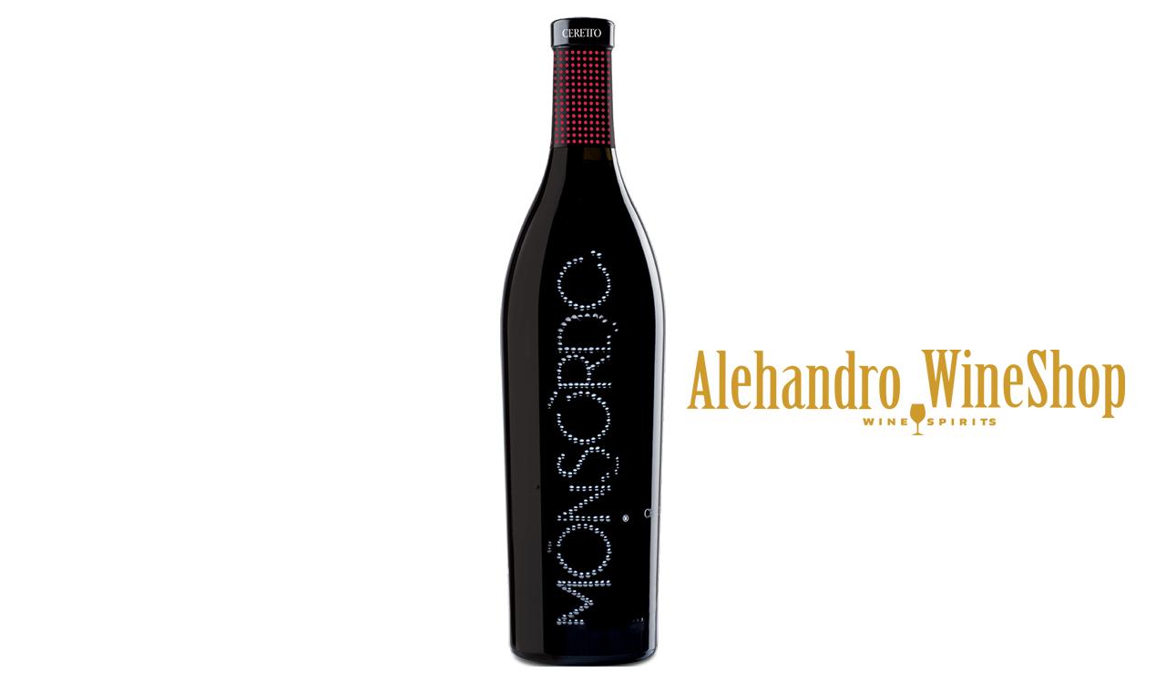 Verë e kuqe, kantina Ceretto, zona e prodhimit komuna Alba, Itali, varieteti Cabernet Sauvignon, Merlot, Syrah, volumi 0,75 l