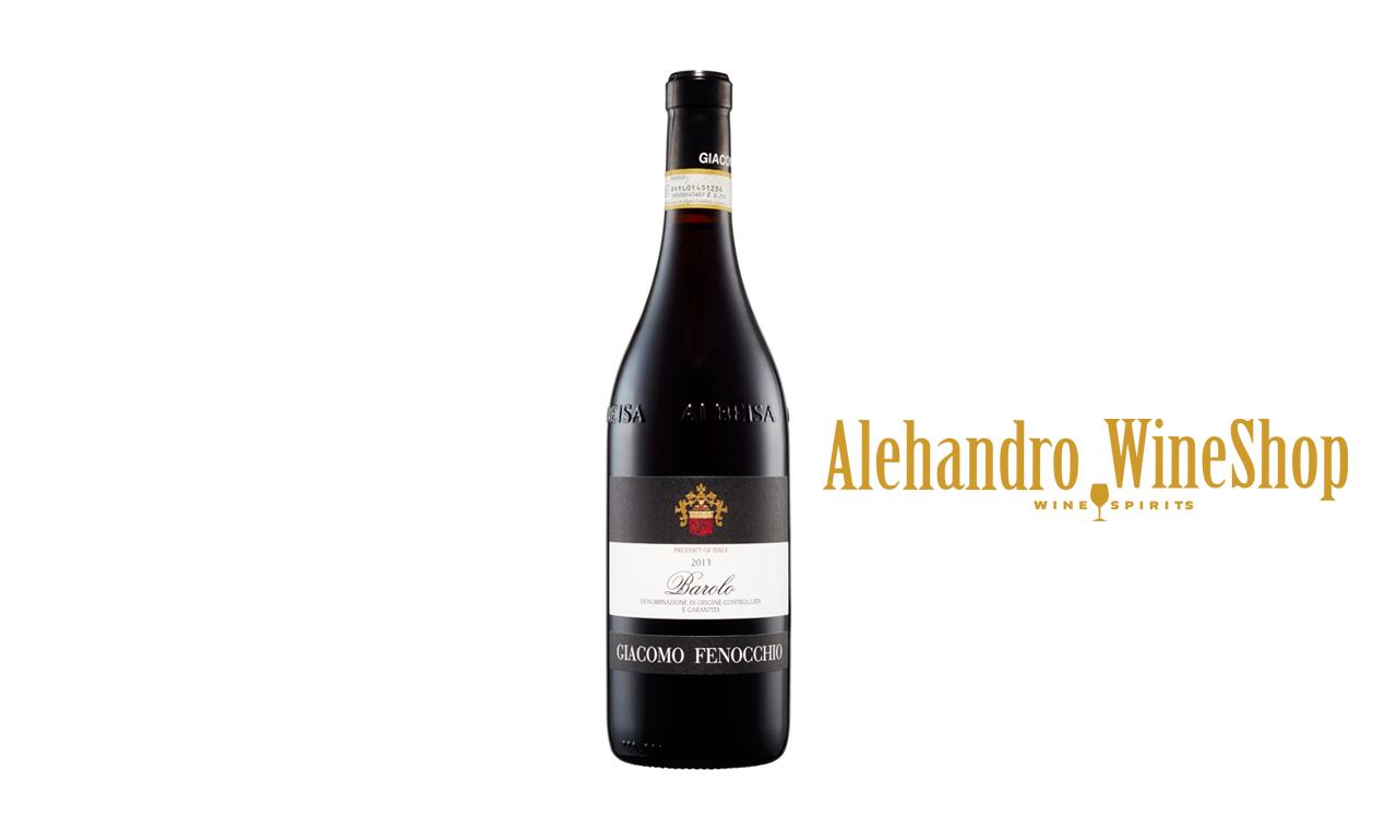 Verë e kuqe, kantina Giacomo Fenocchio, zona e prodhimit Piemonte, Itali, varieteti Nebbiolo, alkool 14, volumi 0,75 l