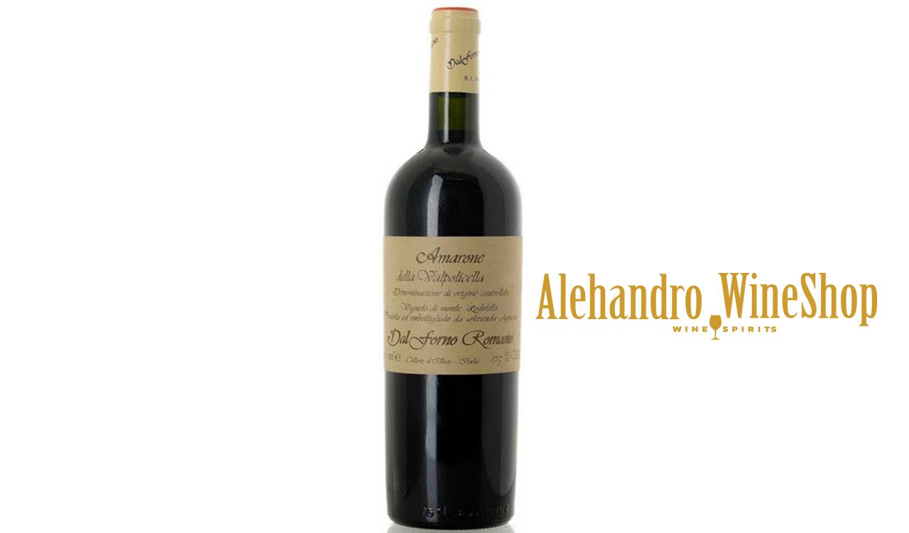 Verë e kuqe, Dal Forno Romano, zona e prodhimit Veneto Itali, varieteti Valpolicella Blend, alkool 16, volumi 0,75 l