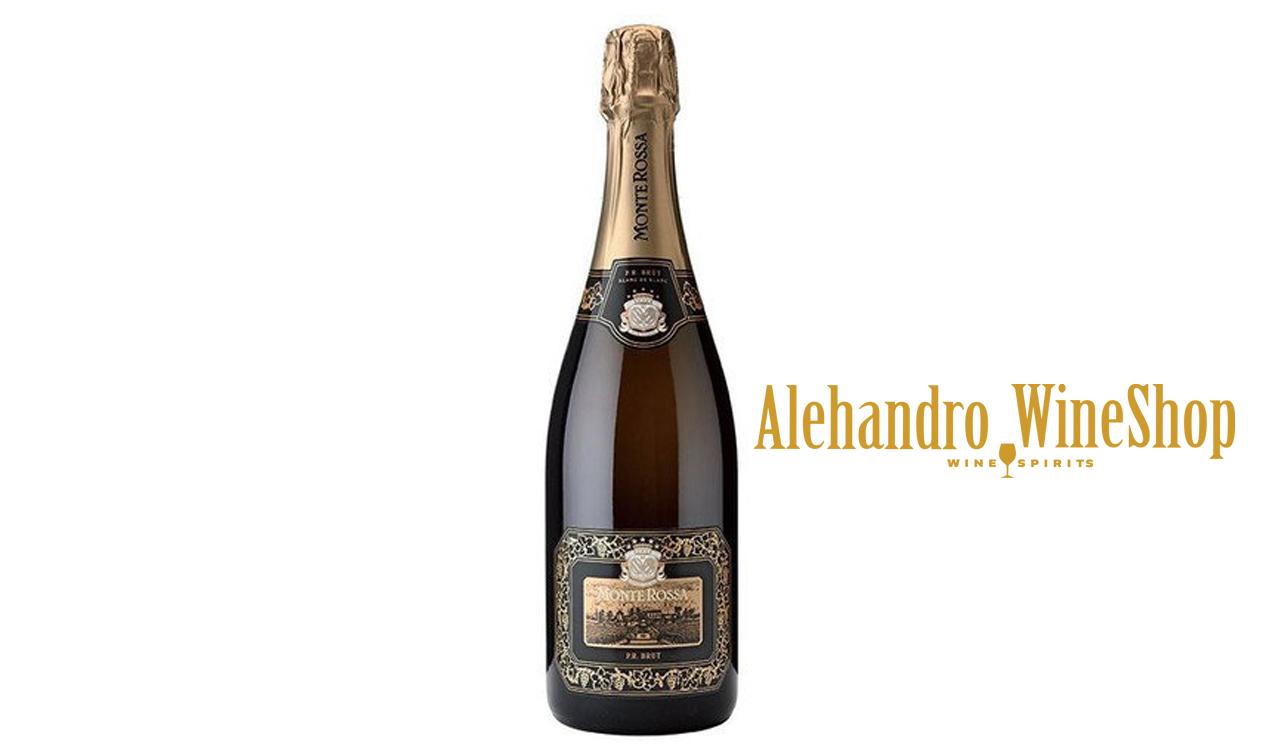 Prosecco, kantina Monte Rossa Franciacorta, zona e prodhimit Lombardy, Itali, varieteti Chardonnay 60 përqind e Pinot Nero 40 përqind, alkool 12.5, volumi 0,75 l, shërbehet në 6 deri 8 gradë celcius