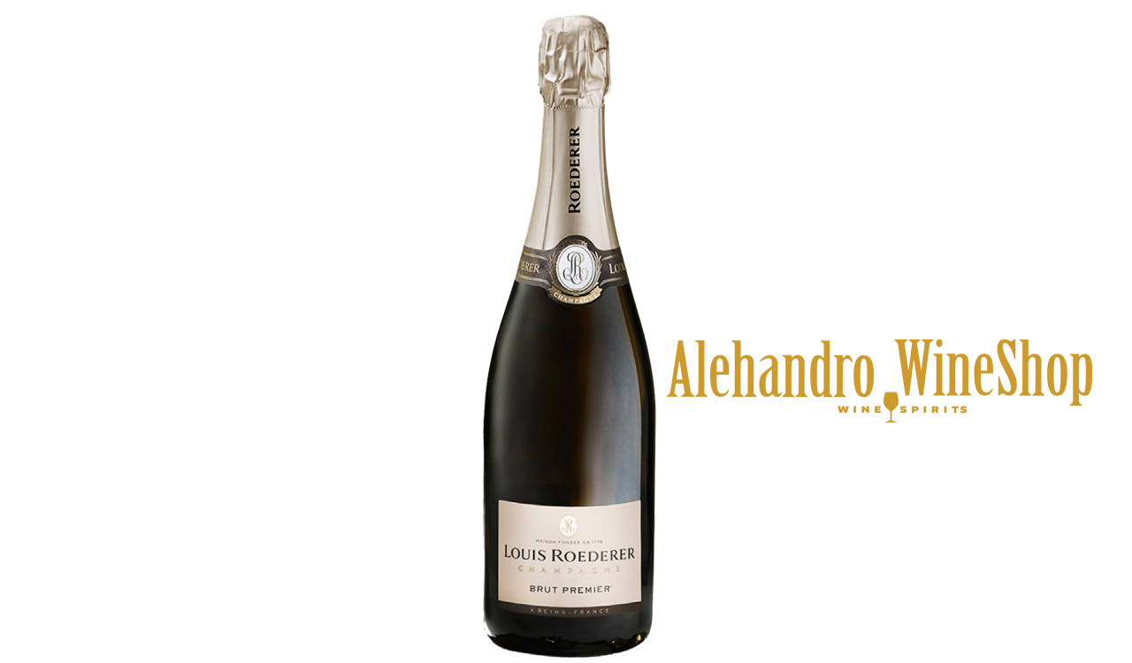 Champagne, kantina Louis Roederer, zona e prodhimit France, Champagne, varieteti Pinot Nero 40 përqind, Chardonnay 40 përqind, Pinot Meunier 20 përqind, alkool 12, volumi 0.75 l, shërbehet në 9 deri 12 gradë celcius
