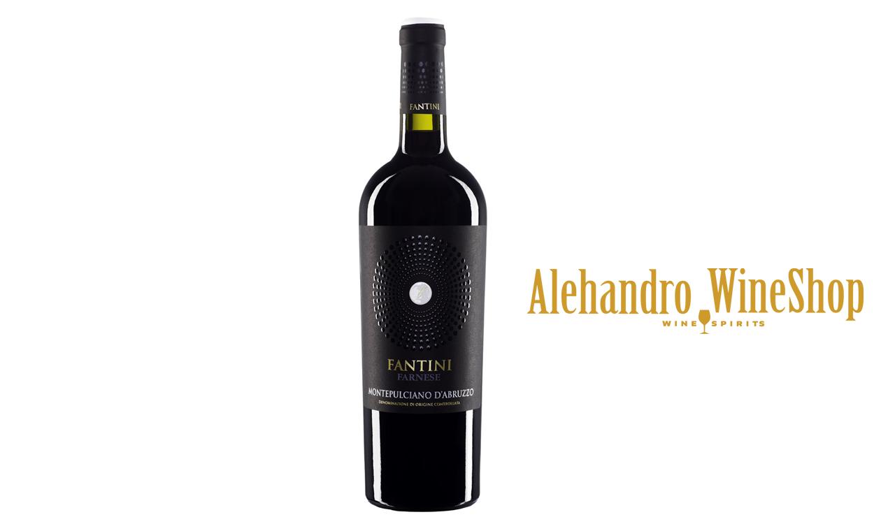 Verë e kuqe, kantina FANTINI, FARNESE, zona e prodhimit Itali, varieteti Montepulciano DAbruzzo, alkool 13, volumi 0,75 l