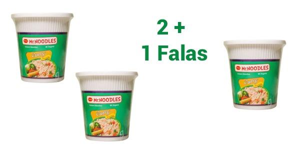 Blini 3 Mr Noodles me çmimin e dy. Vendosni shijen e Mr Noodles tek detajet e porosisë.