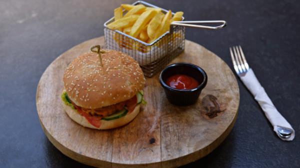 Burger bocconcino. Produkti nuk shërbehet para orës 12