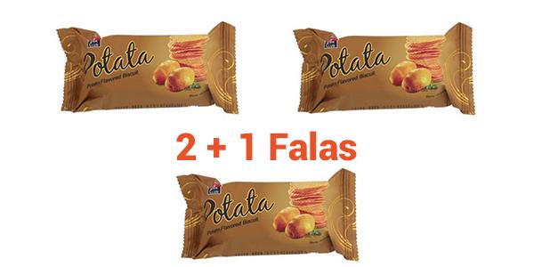 Blini 2 Natural Flavor Potata Biscuit me çmimin e dy