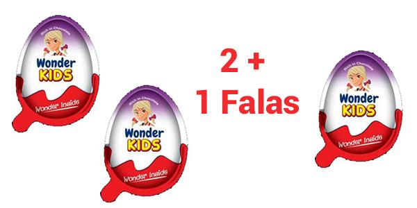 Blini 3 vezë Wonder Kids me çmimin e dy
