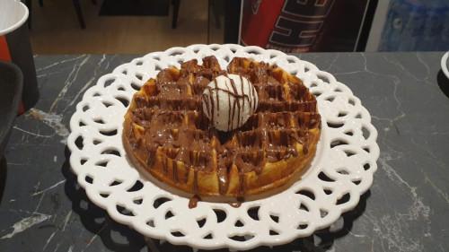 Waffle me nutella