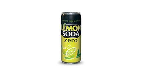 Lemon soda zero kanaçe 0.33l