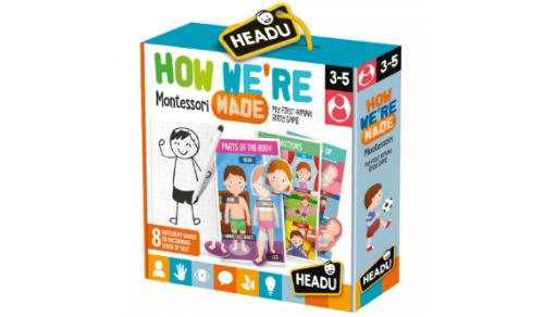 Ky puzzle shërben për të vendosur dhe mësuar rreth veprimeve fizike apo emocionale të një personi.Fëmijët mund të mësojnë pjesët e trupit,të pesta shqisat e një njeriu,pozicionet e trupit,shprehitë e fytyrës në situate të ndryshme apo frazën e rritjes dhe krijmit fizik dhe psikologjik.