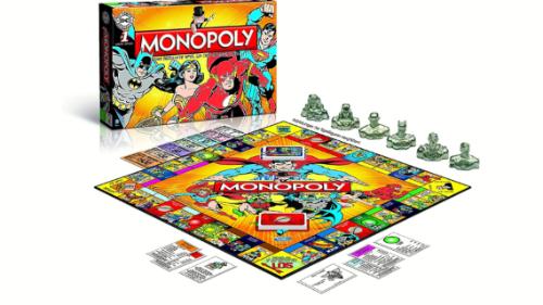Loja origjinale monopoly në versionin e personazheve vizatimore Marvel. Një histori heronjsh e nderthurur në rregullat e lojes me të pëqyer nga çdo moshë