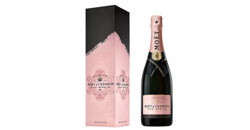 Moet Chandon Rose Imperial Gift Pack Signature 2020 0.75L