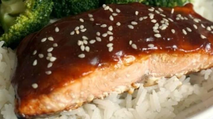 fileto salmoni ne salce teryaki