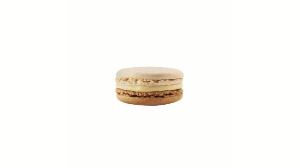 Vanilje me krem karameli dhe copëza arra