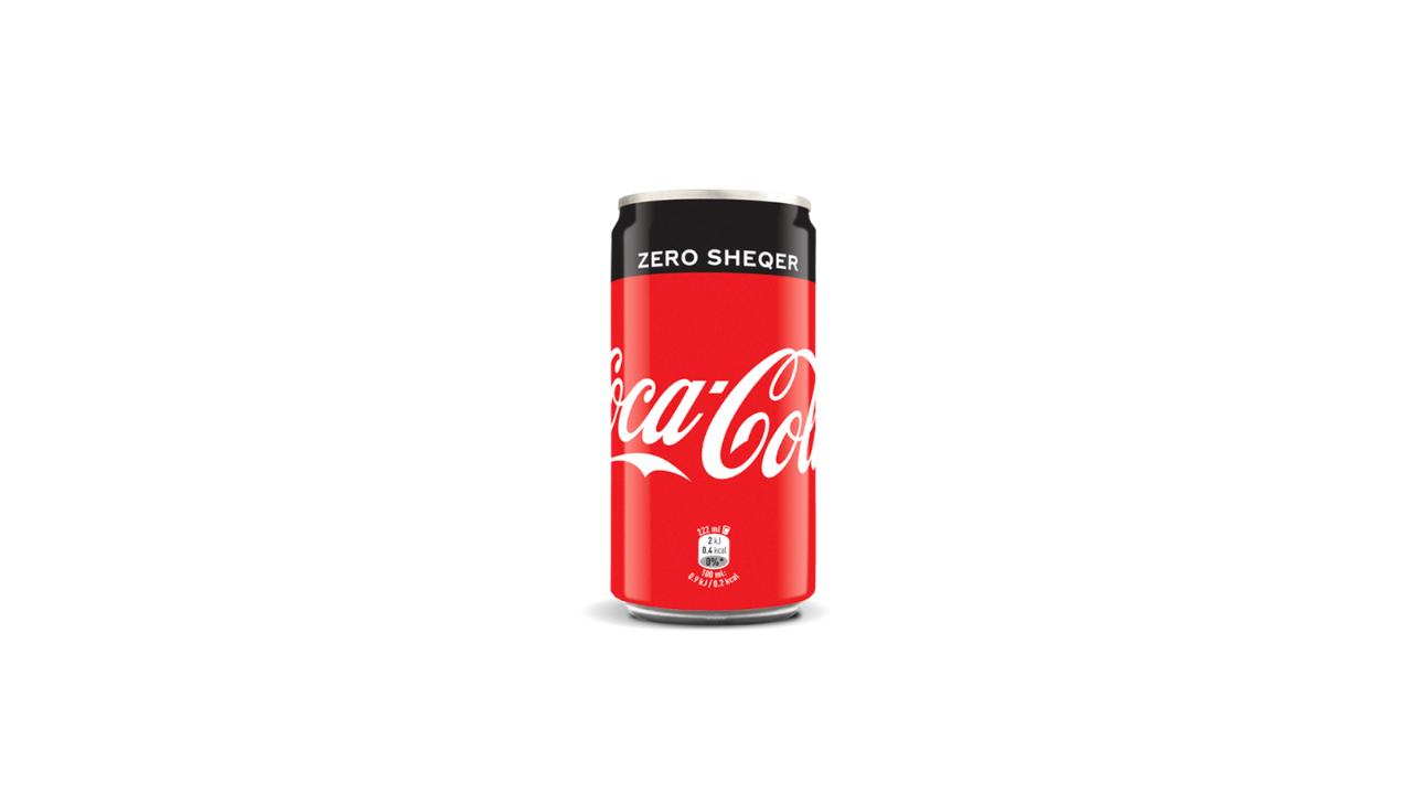 Coca Cola Zero Kanaçe 0.33L e ftohtë