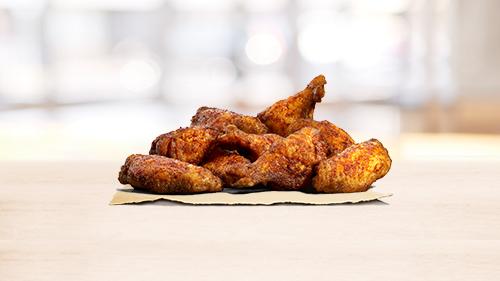9 chicken wings