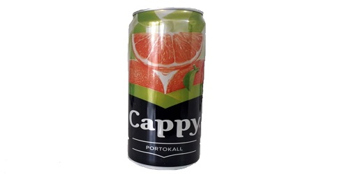 Cappy Pulpy 330 ml kanaçe