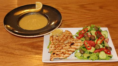 Fileto pule, supë pule, sallatë greke