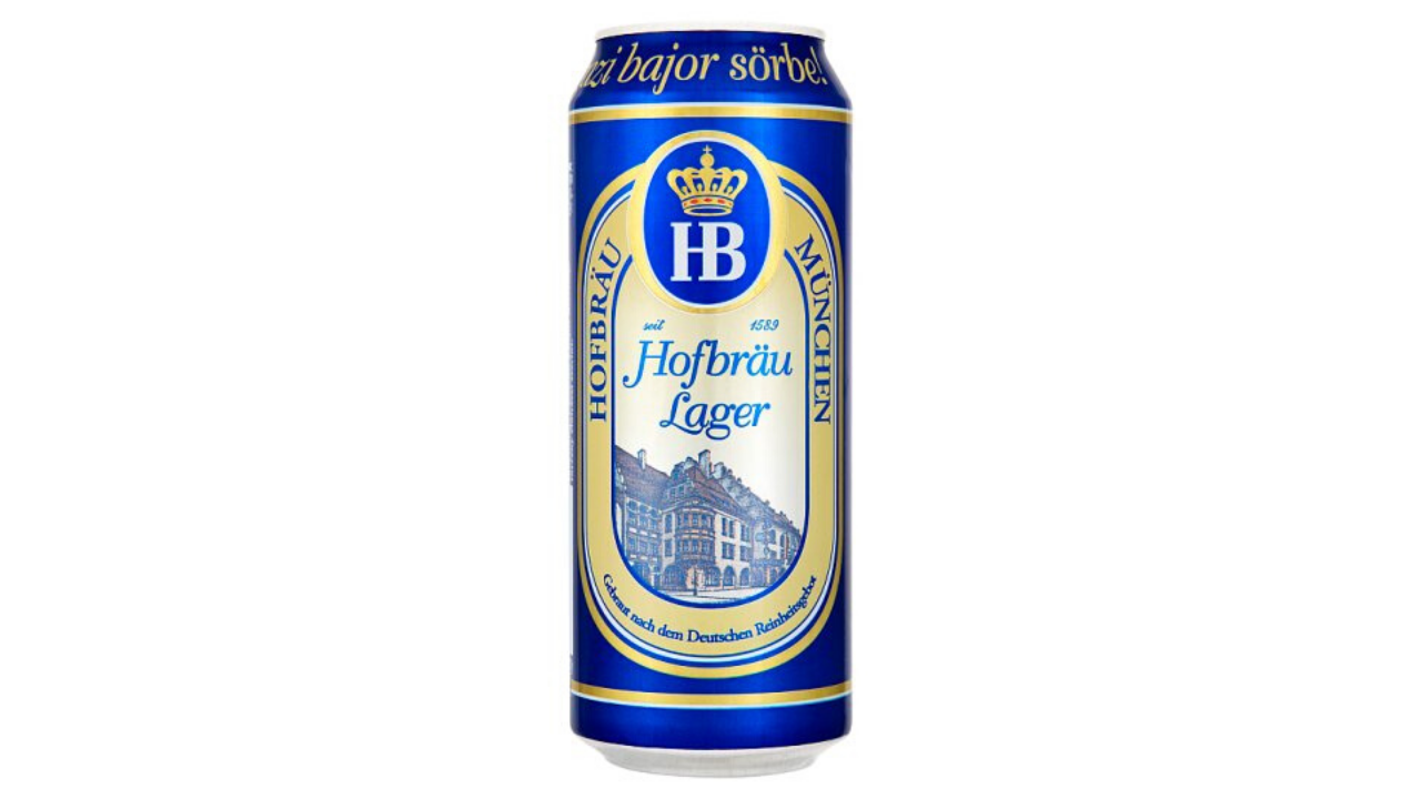 HB  HOFBRU munchen 0,5 lit