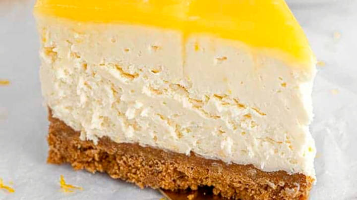 Cheesecake i viles me limon