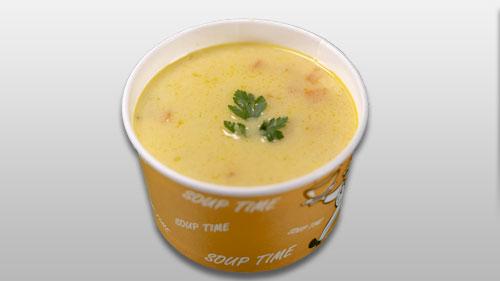 Supë pule dhe dy broçe integrale