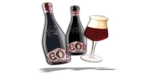 Birrë artizanale Leon 0.33 Baladin. Përqindja alkolike 9