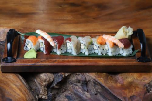 Karkalec, salmon, ton, levrek, avocado