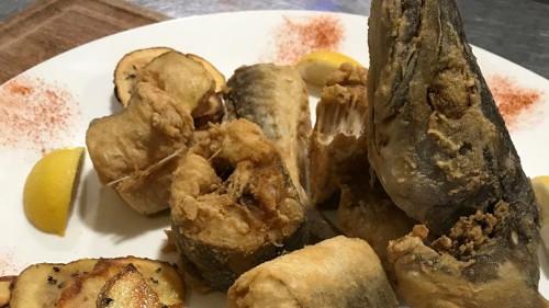 Shërbehet friture dhe Shoqërohet me Patate Crispy