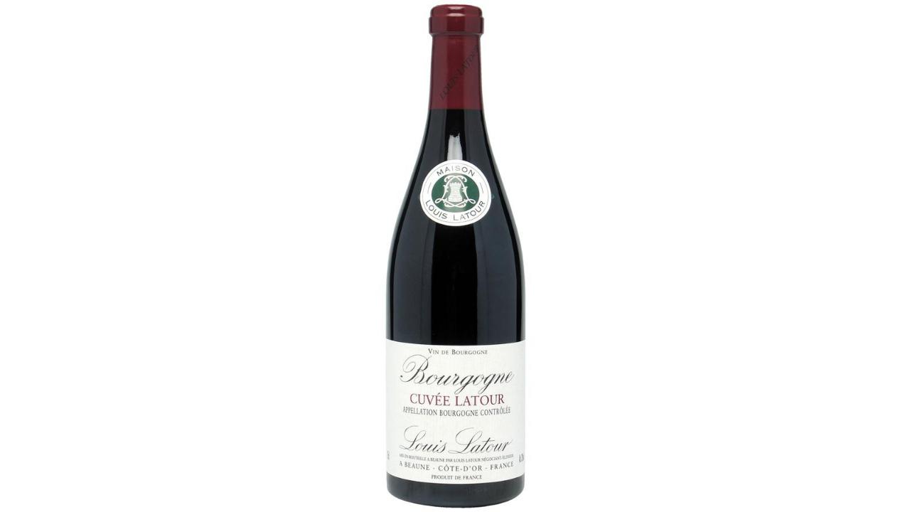 Zona ku është prodhuar është Bourgogne, Francë, varieteti i përdorur është Pinot Noir. Ndihet aroma e një buqete të pasur aromash, e freskët dhe me aroma qershije, e shishme dhe me karakter.
