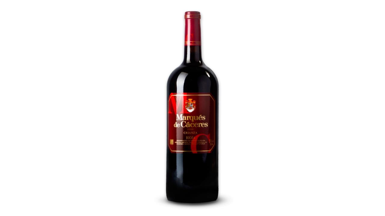 Zona ku është prodhuar është Crianza Rioja, Spanjë, varieteti i përdorur është Tempranillo, Granacha Tinta, Graciano. Ka aroma të theksuara vanilje, çokollate, qershije dhe manaferre e gërshetuar me aromat e tokës.