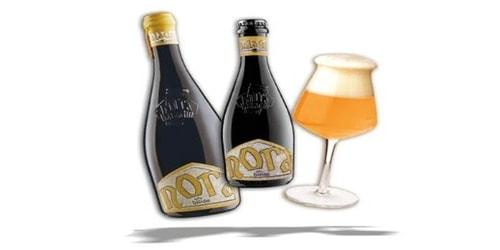 Birrë artizanale Nora 0.75 Baladin. Përqindja alkolike 6.8