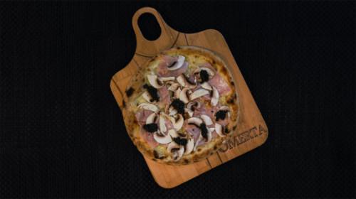 Fior di latte, kërpudhë e freskët, krem tartufi cotto