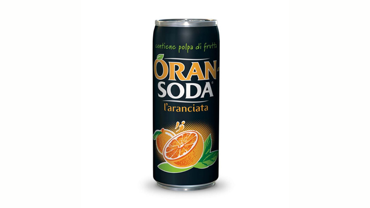 Orange soda 330 ml