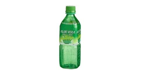 Lëng i freskët, natyral me copeza aloe vera në brendësi. 500 ml
