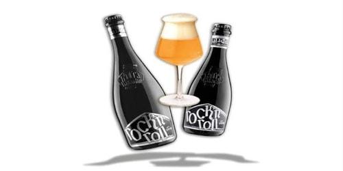 Birrë artizanale Rock N Roll 0.33 Baladin. Përqindja alkolike 7.5