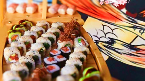 6 maki, 6 nigiri, 6 sashimi