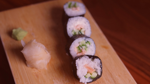 Salmon i gatuar, philadelphia, kastravec