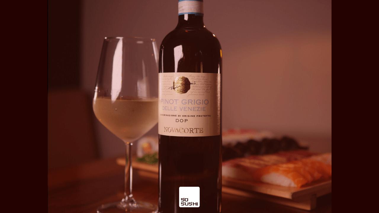 Verë Pinot Grigio e vitit 2017