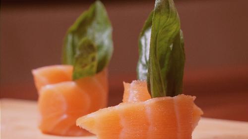 Salmon, philadelphia, rukola e freskët