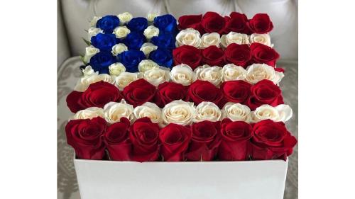 Kompozim i krijuar ndryshe për çdo flamur shteti