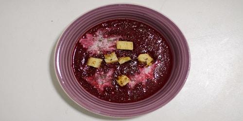 Supë me panxhar, xhinxher dhe arrë kokosi