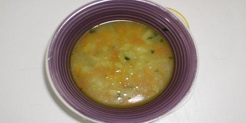 Supë me perime