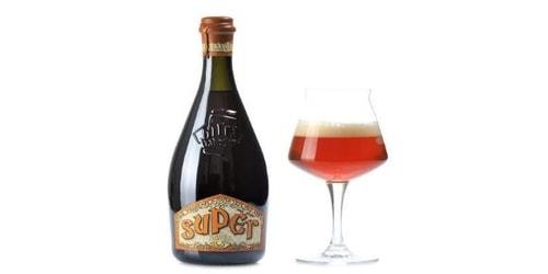 Birrë artizanale Super 0.75 Baladin. Përqindja alkolike