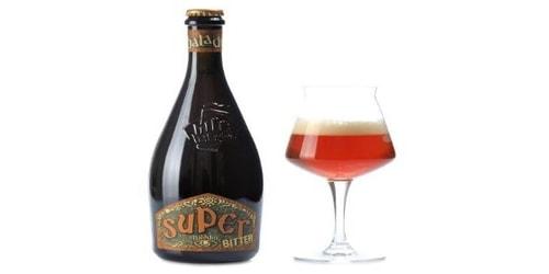 Birrë artizanale Super Bitter 0.33 Baladin. Përqindja alkolike 8