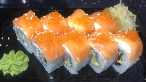 Gaforre, avokado, kastravec, philadelphia, salmon, salcë chef
