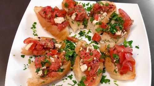 Brusketë domate