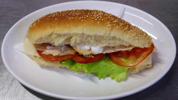 Sandwich proshute pule
