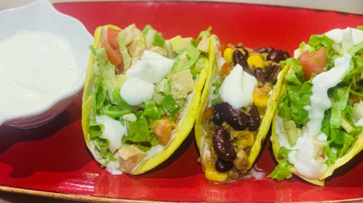 Taco mix me  ragu e pule